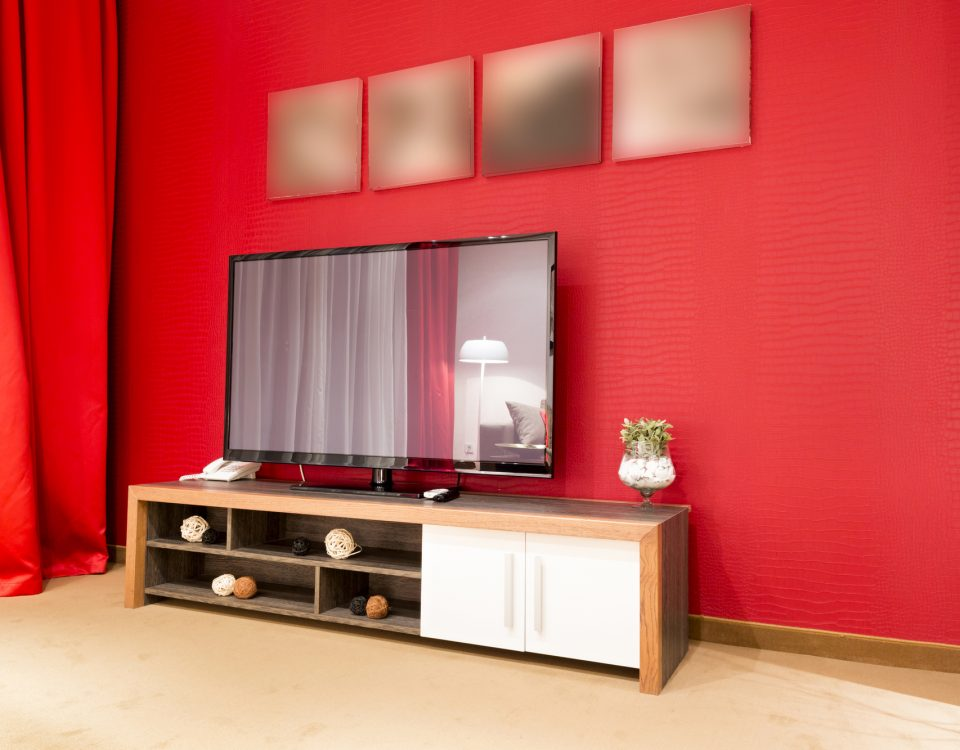 mobilier bas pour tv écran plat